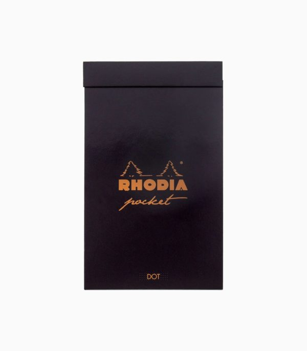 Agenda Rhodia Classic Pocket negru