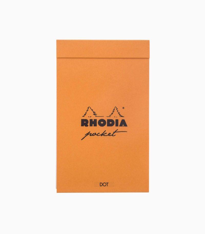Agenda Rhodia Classic Pocket portocaliu