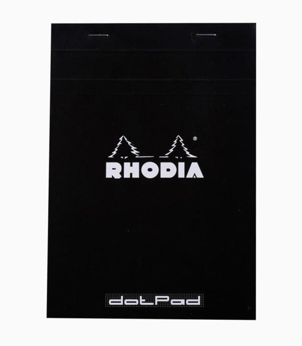 Blocnotes capsat A5 dotPad Rhodia negru