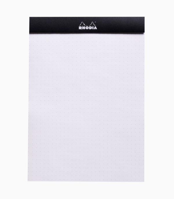 Blocnotes capsat A5 dotPad Rhodia negru liniatură
