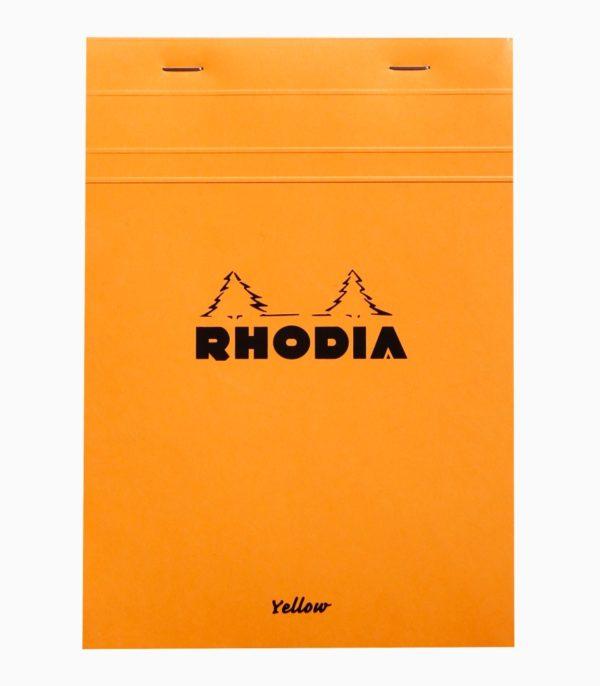 Blocnotes N°16 A5 capsat Rhodia Orange