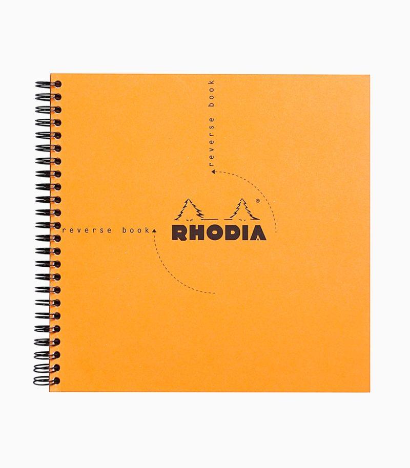 Caiet Clairefontaine Rhodia Reverse, portocaliu