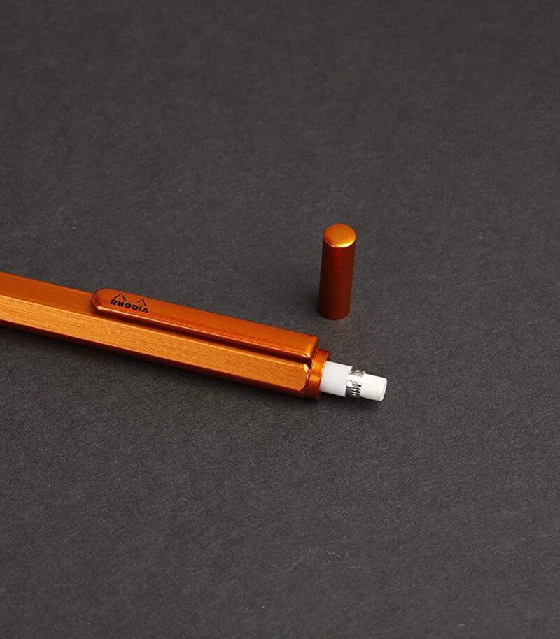 Creion mecanic 0.5 mm, Rhodia scRipt radieră