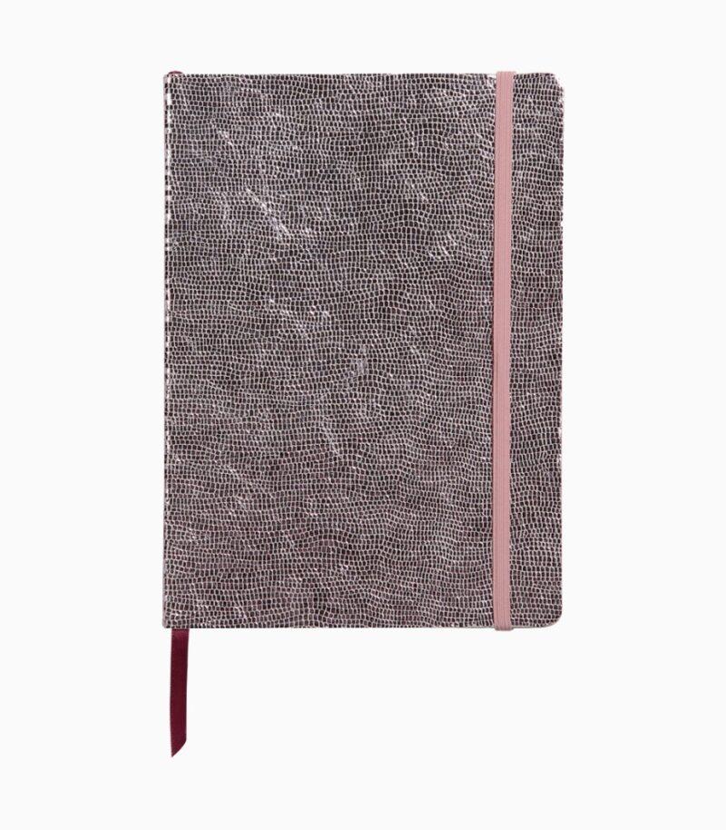 Notebook coperta moale piele, A5, Clairefontaine Celeste Pink