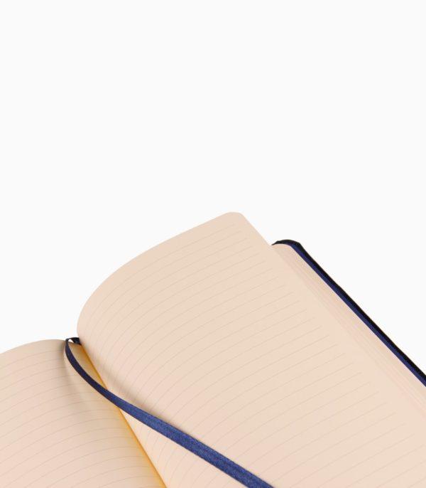 Notebook cu copertă tare din piele Cuirise A5 Clairefontaine, interior