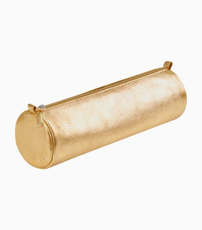 Penar cilindric din piele Cuirise Clairefontaine Golden